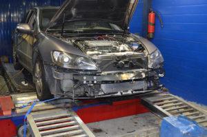 Диагностика подвески Honda Legend